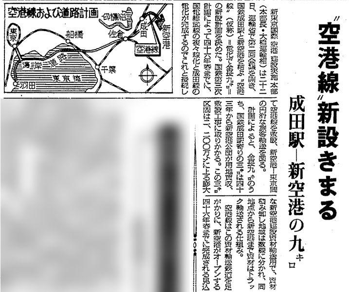 成田空港への国鉄未成線 (1)