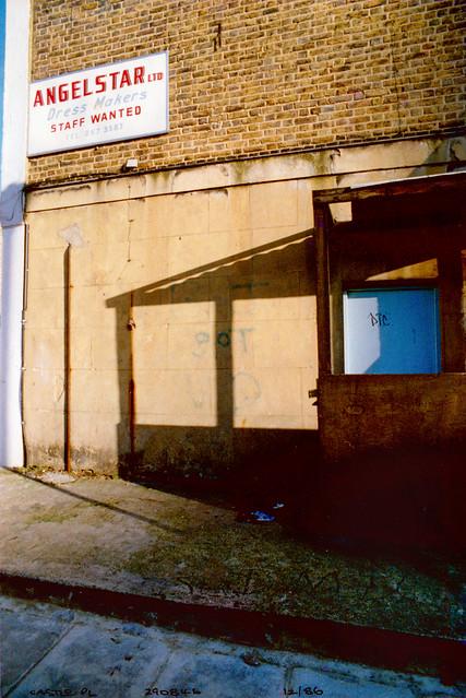 Angelstar, Dress Makers, Castle Place, Camden, 1986,