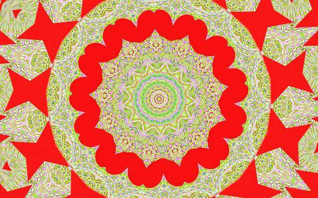 Kaleidoscopic Fractal