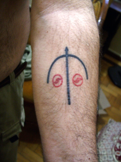 My tattoos: Left forearm * Minhas tatuagens: Antebraço esquerdo