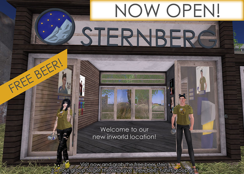 STERNBERG Store Opening