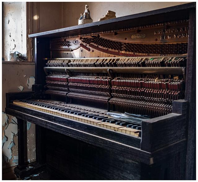 Abandoned Stone House - Piano