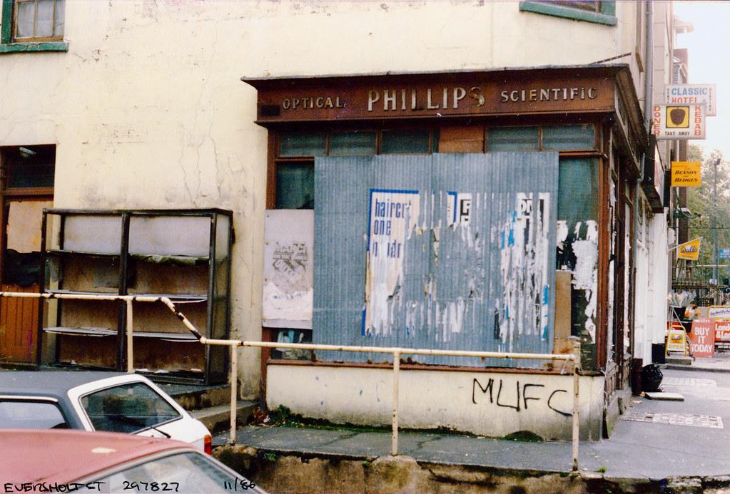 Phillips, Scientific, Eversholt St, Somers Town, Camden, 1986,