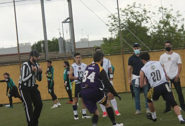 Lance del partido correspondiente a la Jornada 3.  Autor - Iker García