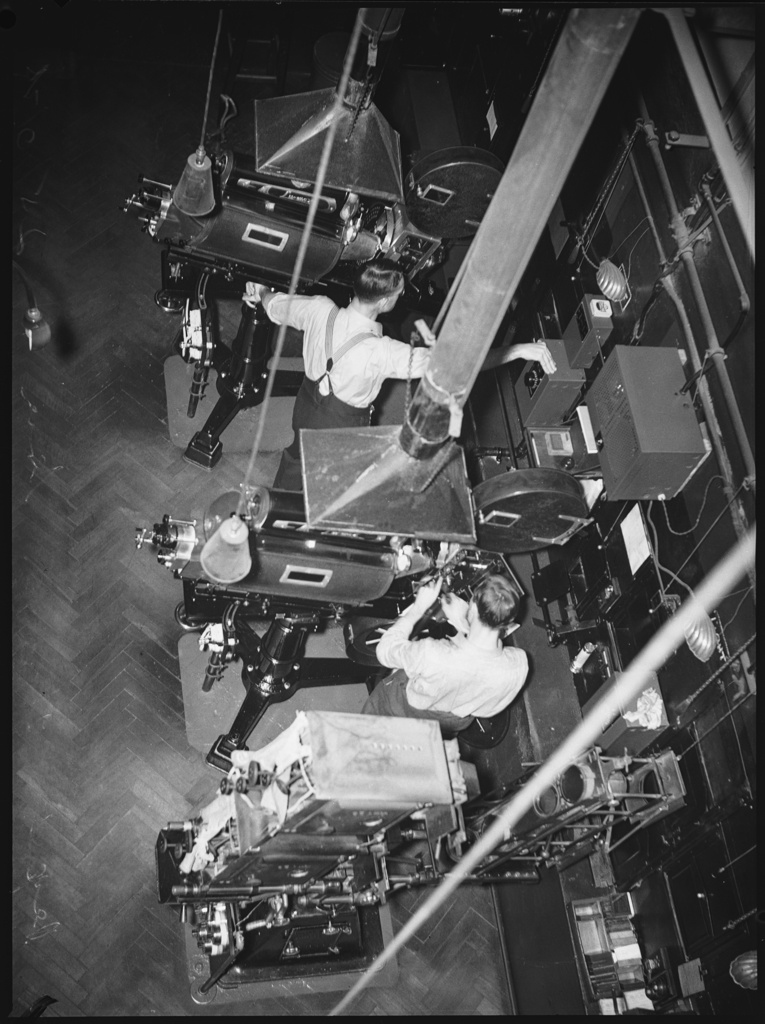 Projectors, Regent Theatre Sydney, 25 October 1938