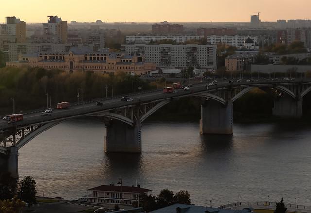 Kanavinsky bridge in Nizhny Novgorod
