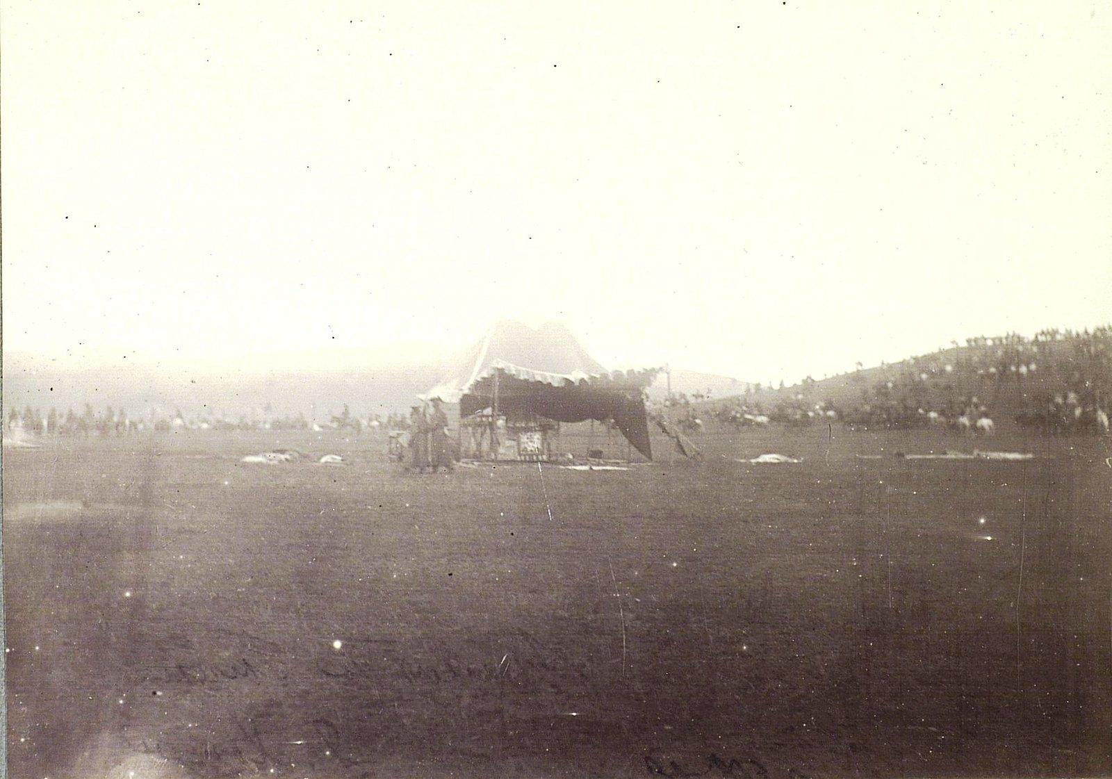 Общий вид палатки Богдо-Гегена