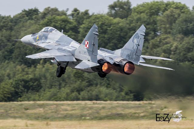 40 Polish Air Force Mikoyan-Gurevich Mig-29 Fulcrum