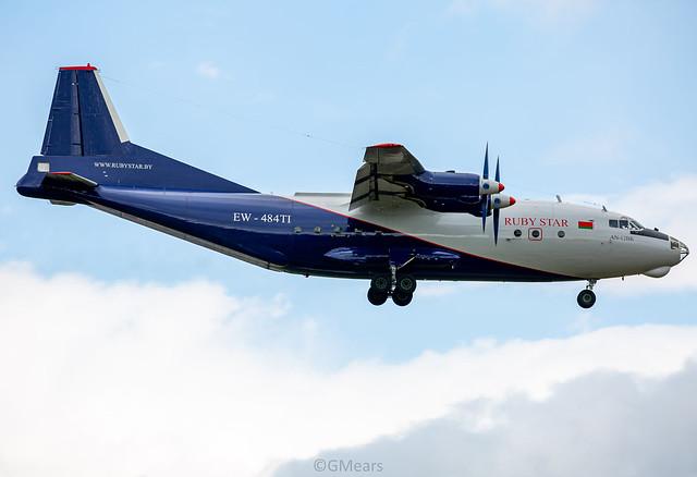 EW-484TI Antonov An-12BP RubyStar