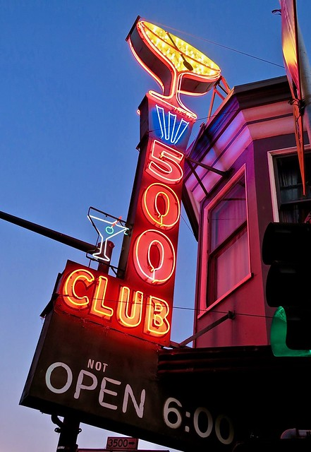 500 Club, San Francisco, CA