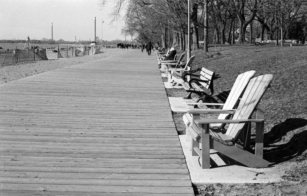 Plenty of Boardwalk Seating