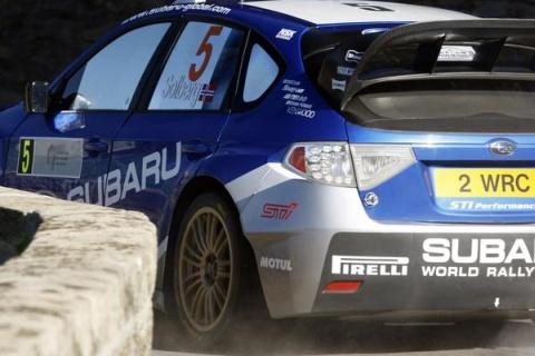 Subaru Impreza WRC – Córcega 2008