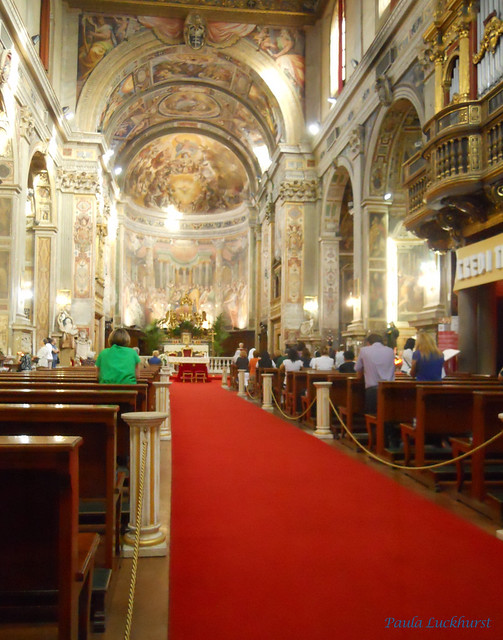 The church of Santo Spirito in Sassia,  the official sanctuary of Divine Mercy in Rome since 1994 - II