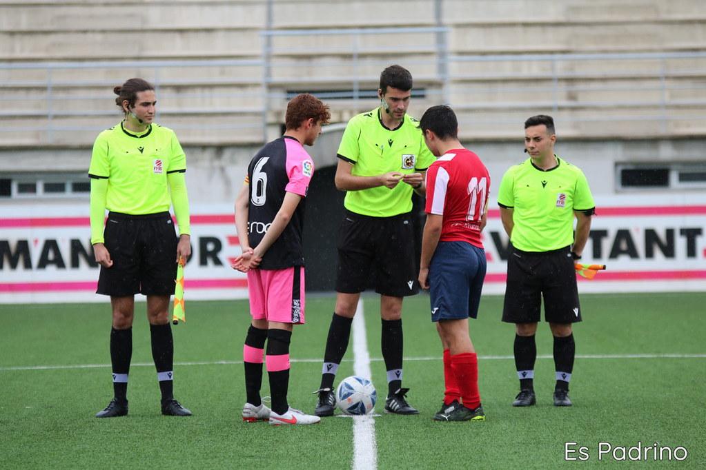 Á10/04/2021- C.D.Manacor - R.C.D. Mallorca juvenil nacional para el ascenso