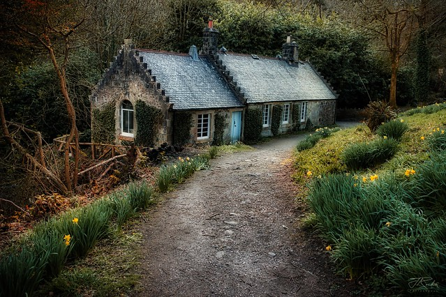 The Old Laundry House, Langbank, Scotland.