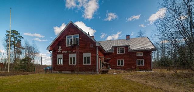 Schweden - Die alte Schule von Berga (explore, April 12, 2021)