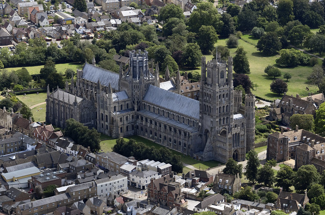 Ely aerial image - Ely Cathedral