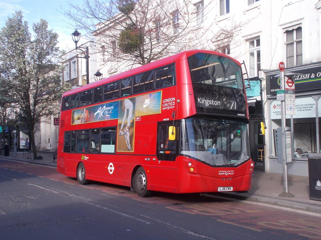 London United VH 45190 in Victoria Road, Surbiton