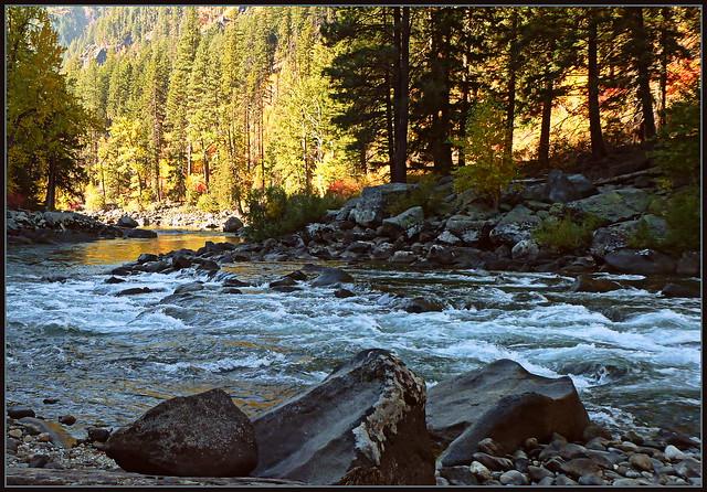 Tumwater Canyon rapids