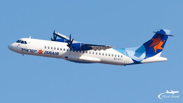 TLV - Israir ATR 72-500 4X-ATJ