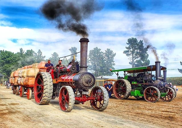 Steam power,