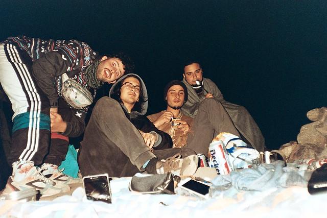 Amigos y camping