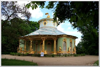 Germany - Potsdam - Sanssouci Park - Chinese House