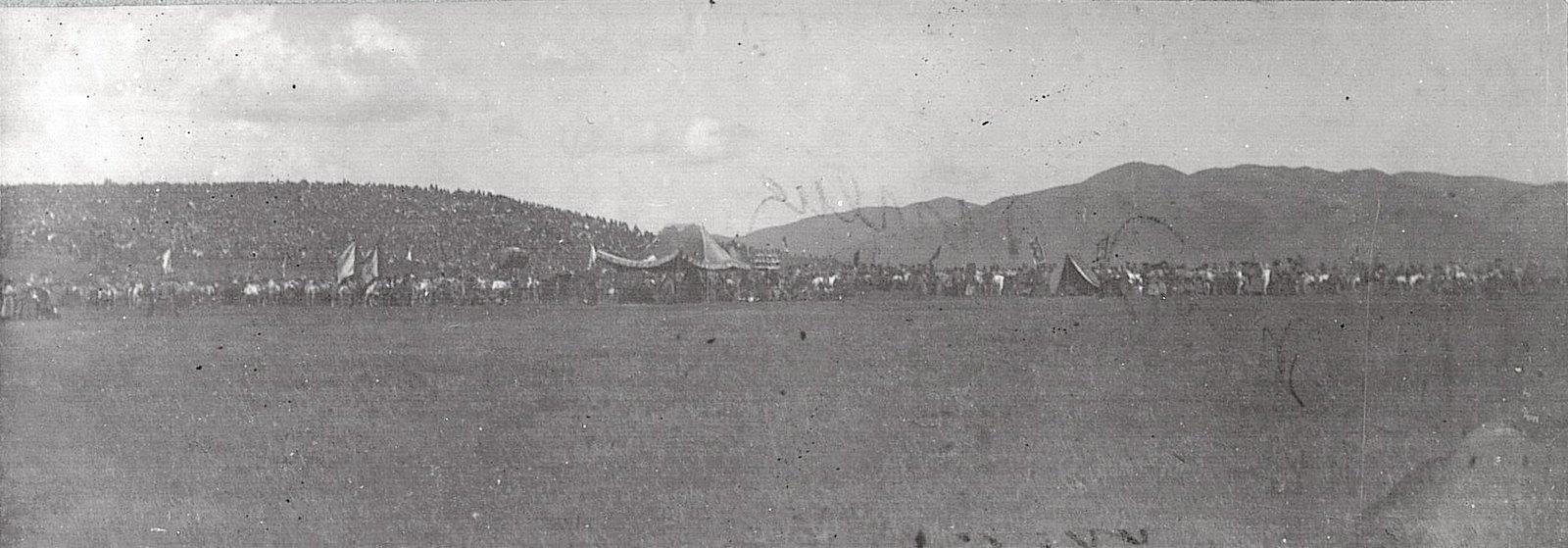 Палатка и свита Богдо-Гегена