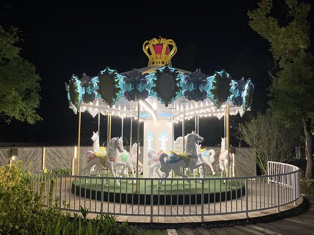 [嘉義] 新悅花園酒店:全台唯一設有「旋轉木馬」的親子飯店
