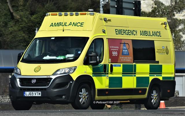 Secamb Fiat Ducato Ambulance LJ69 VTM