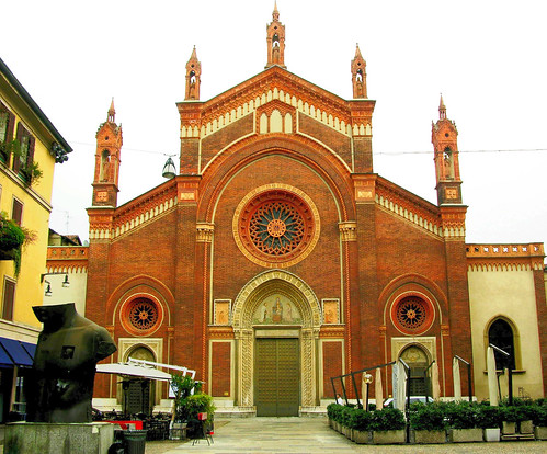 Santa Maria Del Carmine Church, near l'Accademia Brera, Milan, Italy