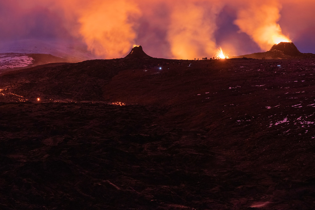 Iceland is burning