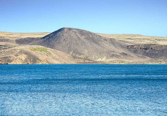 Lake in A Volcanic Landscape