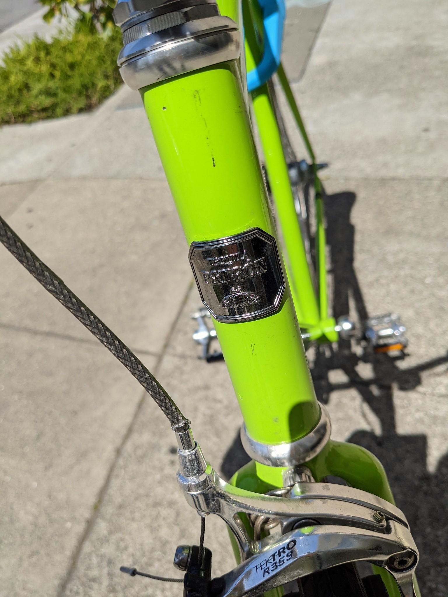 The Tequila Patrón Bike Frame