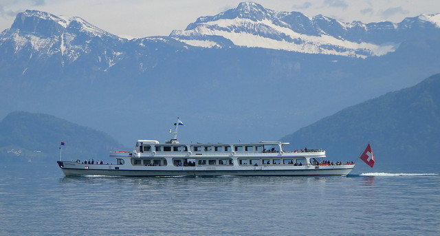 MS Gotthard, Lake Lucerne