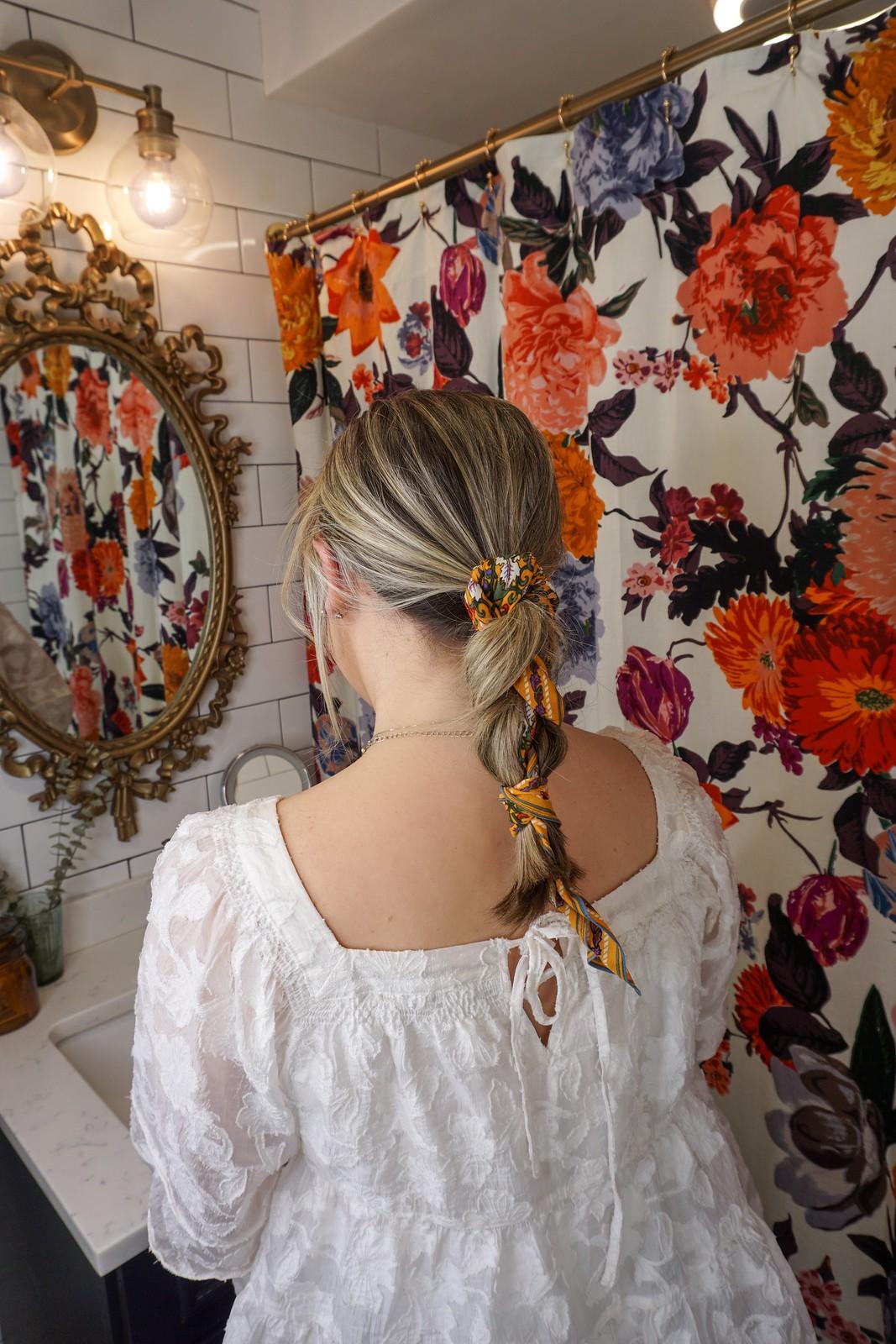 Scarf Braid | 6 Ways to Wear a Scarf in Your Hair | How to Wear a Scarf in Your Hair | Easy Hair Tutorial | Summer Hair Tutorials | Hair Tutorial Videos