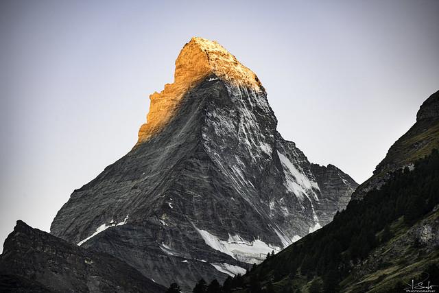 Matterhorn in the morning sun - Zermatt - Wallis - Switzerland