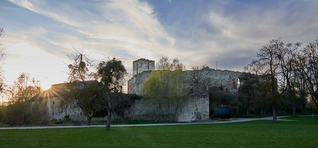 castle ruin spilberg