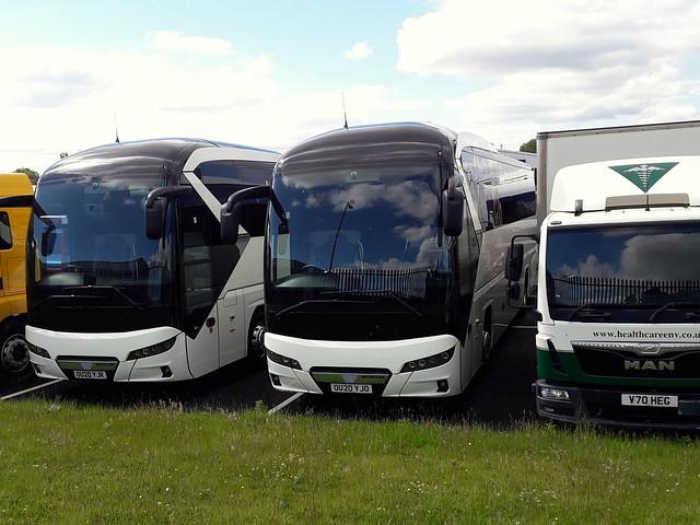 New Neoplan Tourliners, OU20 YJK and OU20 YJO