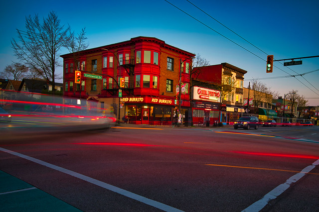 Commercial Drive and East 1st