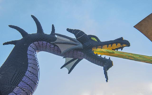 LEGO Dragon - Disney Springs - Lake Buena Vista, Florida
