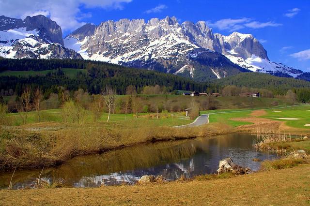 April in mountain Tyrol