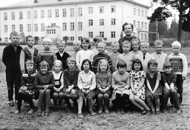Kyminkartano school 1963-64