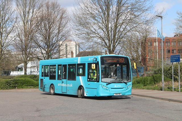 4009 (DM44269) | YX61 FZM | 357 to Harpenden