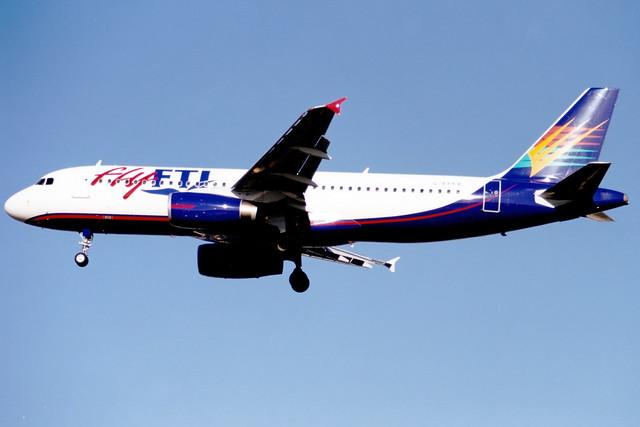 Fly FTI (Airtours International) | Airbus A320-200 | G-EPFR | London Gatwick