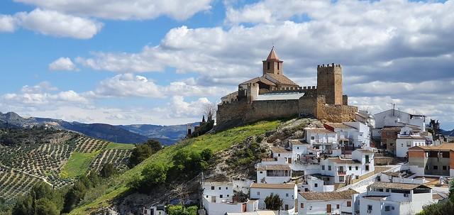 Castillo de Iznájar.