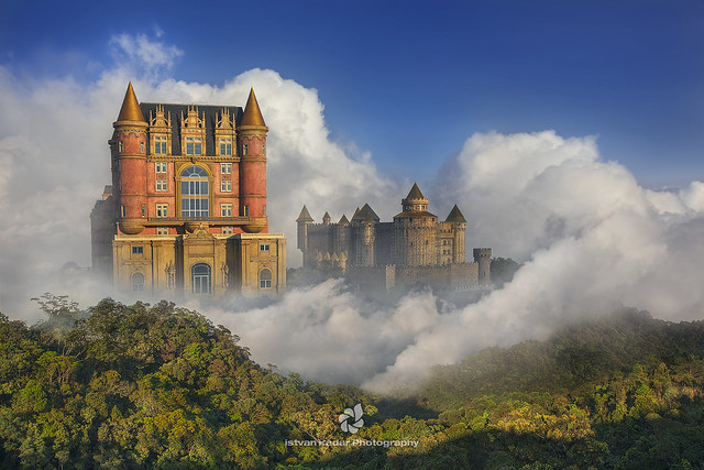 Dream Castles in the Clouds, Ba Na Hills, Vietnam