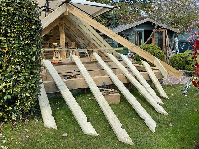 Jack rafters cut