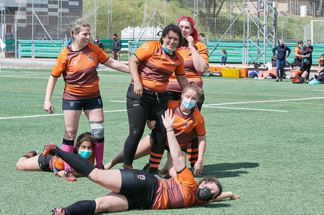 Entrenamiento Getafe Rugby Club Femenino
