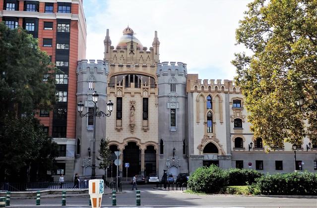 Madrid - Iglesia de Santa Teresa y San José.